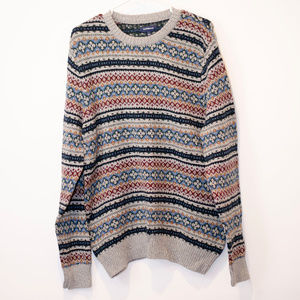 Croft & Barrow  Fair Isle Tall sweater